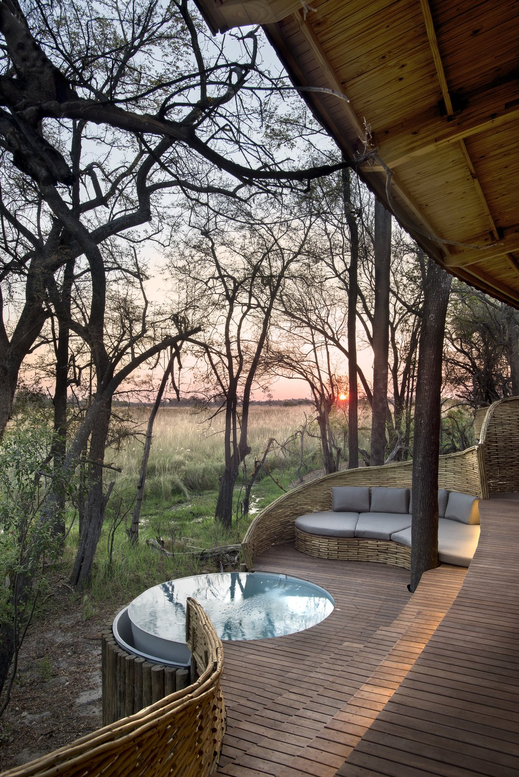 Photo 9 of 13 in Eco-Friendly Safari Lodge in Africa's Okavango Delta