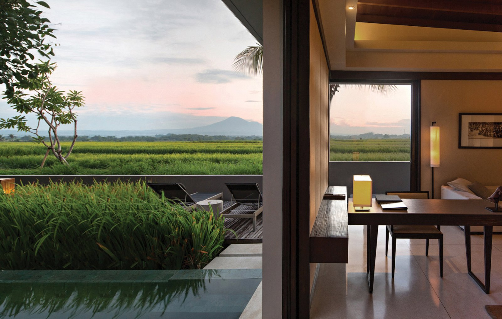 Photo 5 of 9 in A Modern Bali Resort That's Inspired by the Local Landscape and Culture