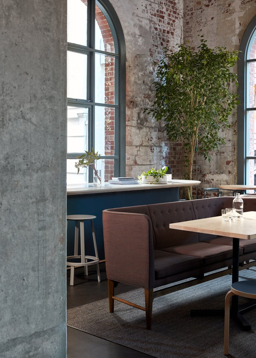 Photo 6 of 10 in An Old Power Station in Melbourne is Transformed Into A Modern Tiered Restaurant