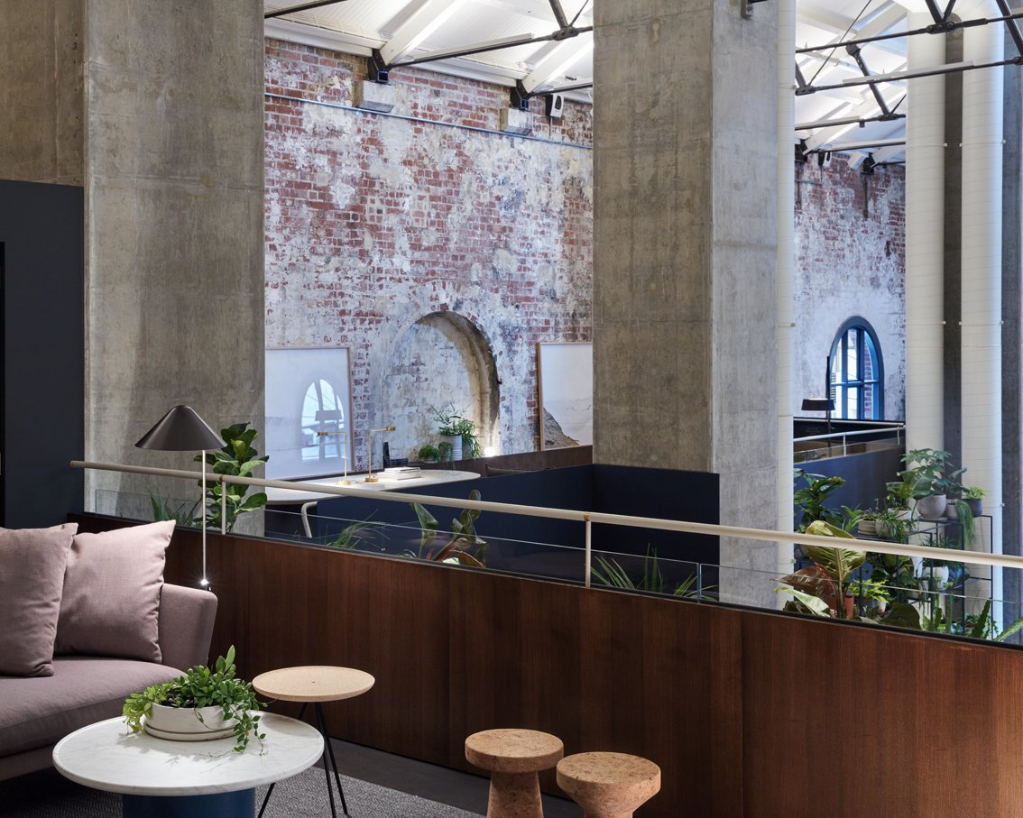 Photo 9 of 10 in An Old Power Station in Melbourne is Transformed Into A Modern Tiered Restaurant
