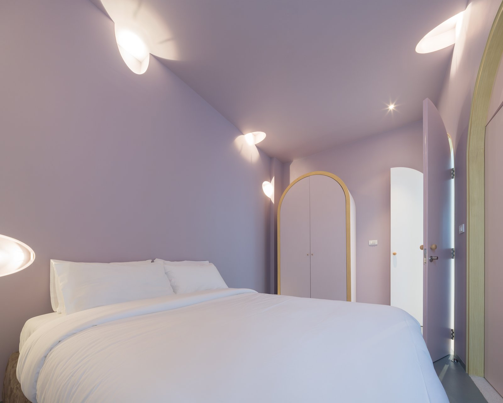 Tagged: Bedroom, Recessed Lighting, and Bed. Inspired by Tom and Jerry, This Net-Filled Vacation Home Is a Kid's Paradise - Photo 10 of 11