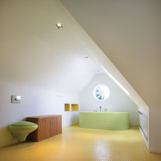 Bright Bauhaus Colors Fill This Brick Edwardian House in London - Photo 8 of 12 -