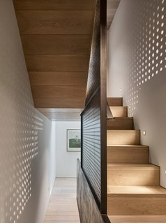 Transparent Perforated Circles Bring Light and Movement to This London Terrace House - Photo 4 of 11 -