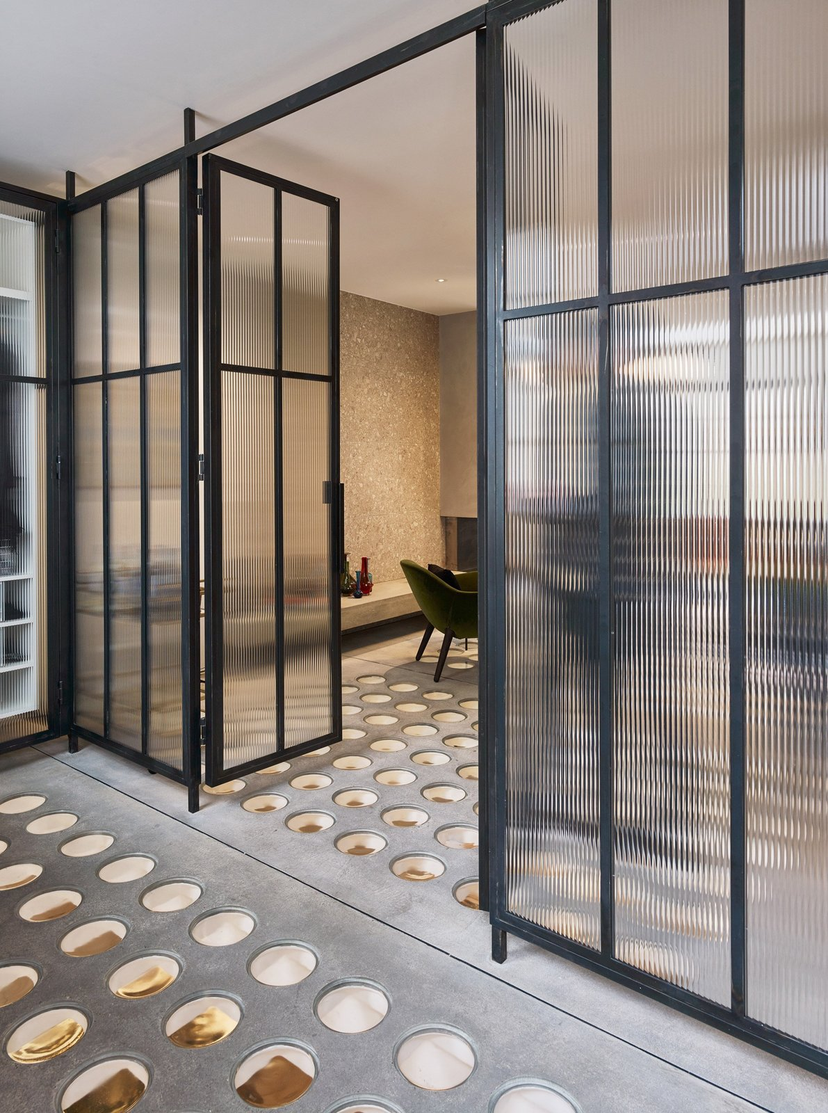 Transparent Perforated Circles Bring Light and Movement to This London Terrace House - Photo 9 of 12