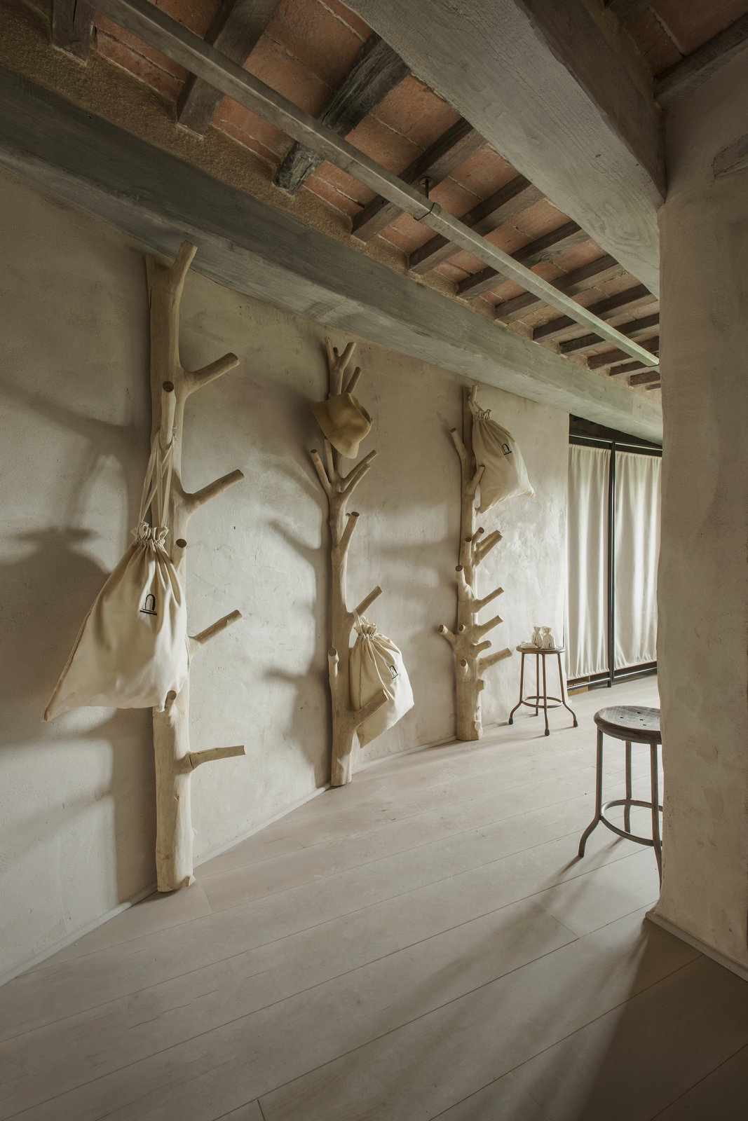 Photo 8 of 9 in A Tree-Filled Spa That Brings Warm Modernism to a 900-Year-Old Tuscan Village