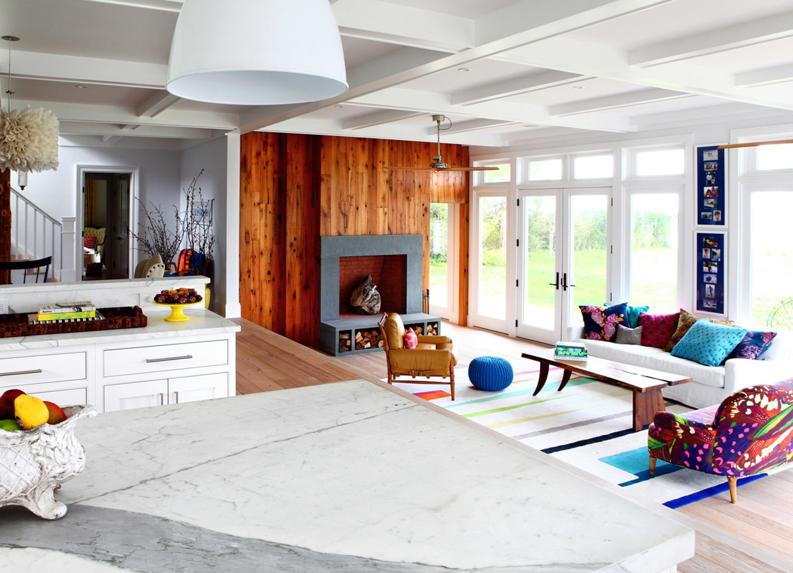 Husband and wife design team Robert and Cortney Novogratz who host HGTV's  Photo 6 of 10 in 9 Small Spaces With  Color