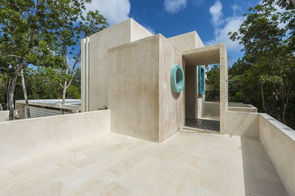 Tagged: Outdoor, Trees, and Rooftop.  Photo 9 of 9 in A New Modern Hotel Brings Midcentury Miami to Tulum, Mexico