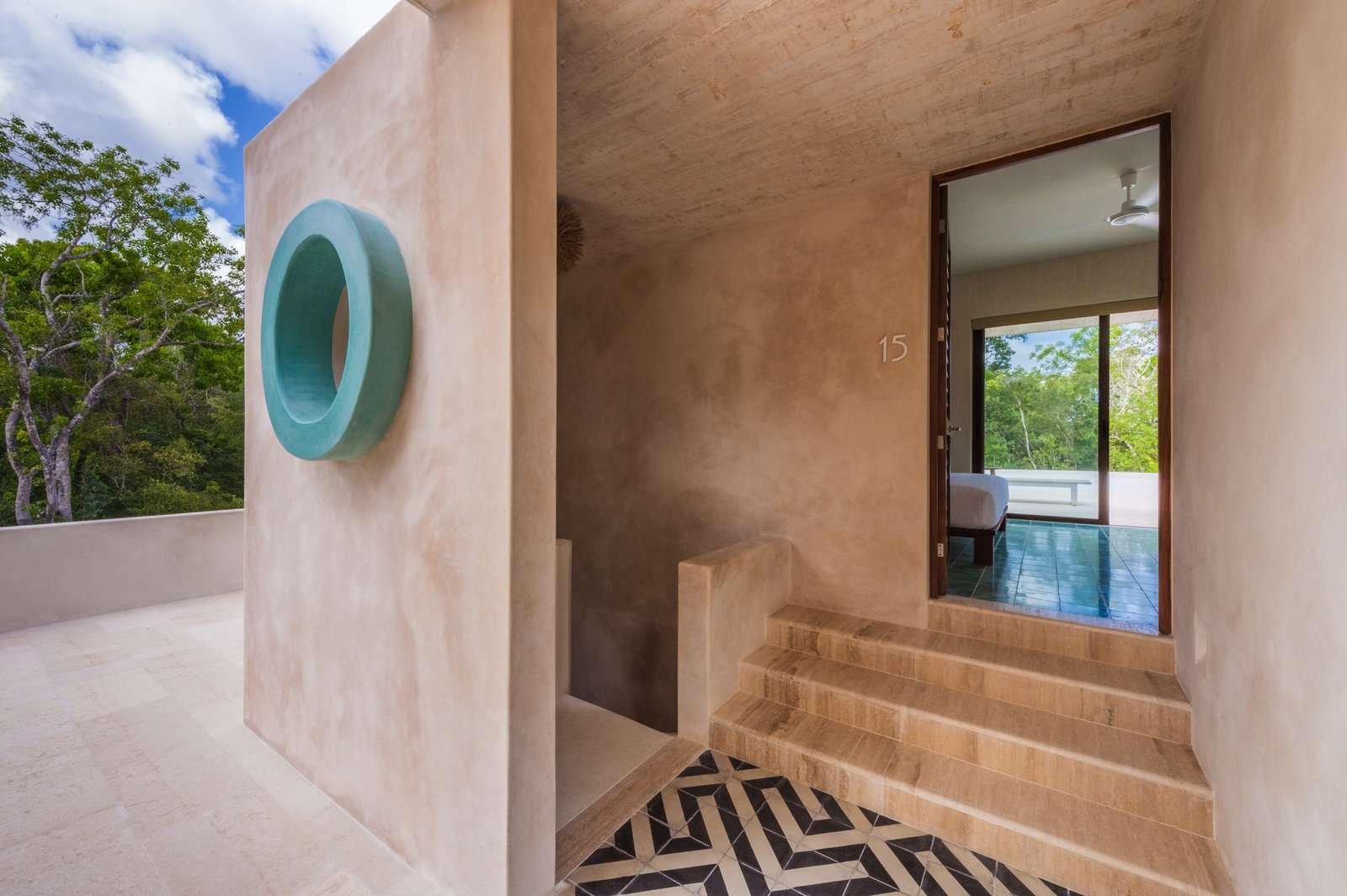 Photo 8 of 9 in A New Modern Hotel Brings Midcentury Miami to Tulum, Mexico