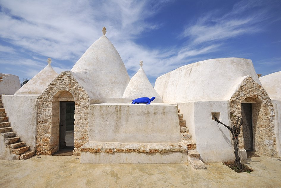 Unique to Italy's Apulia region, a trullo is an ancient hut of with a conical roof that dates back to medieval times. In the commune of Ostuni, you can stay at Brindisi Trulli, a restored traditional trullo structure. Tagged: Exterior.  Photo 1 of 11 in Ever Wanted to Stay in an Ancient Trullo in Puglia, Italy?