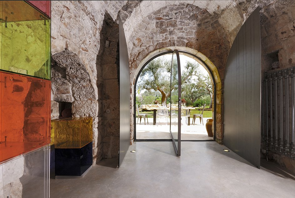 Tagged: Doors, Swing Door Type, Exterior, Metal, and Wood.  Photo 7 of 11 in Ever Wanted to Stay in an Ancient Trullo in Puglia, Italy?