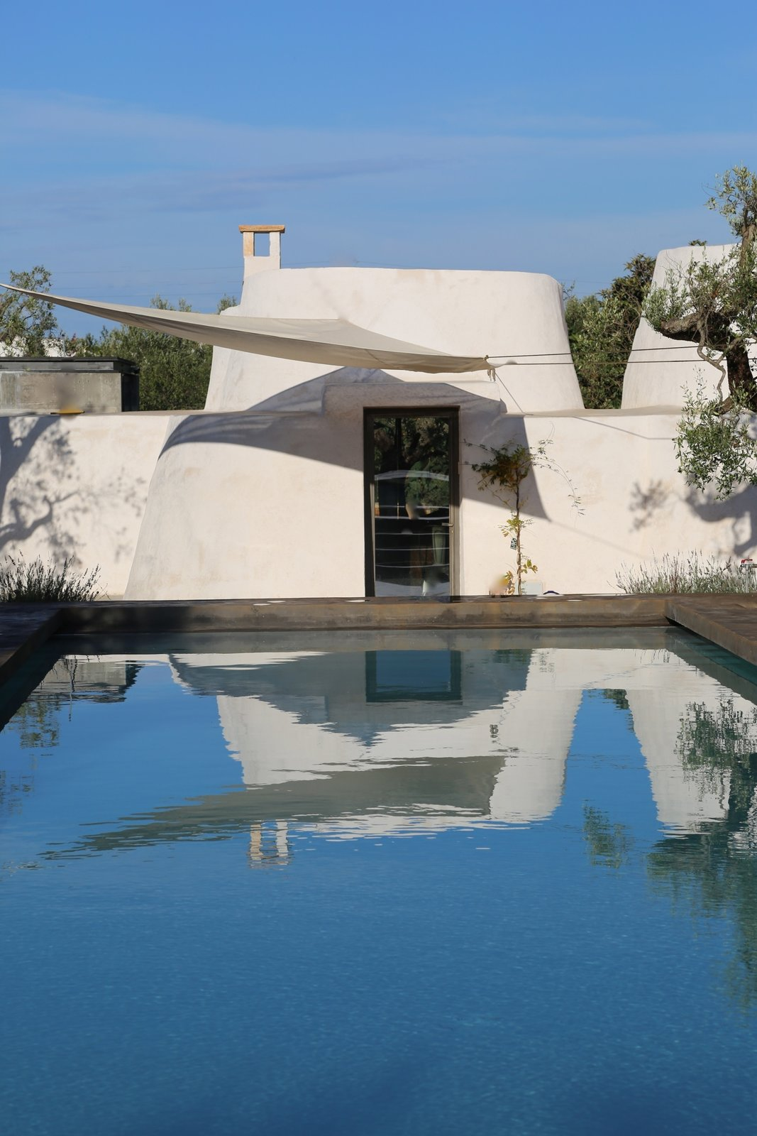 Tagged: Outdoor, Large Pools, Tubs, Shower, Swimming Pools, Tubs, Shower, and Back Yard.  Photo 10 of 11 in Ever Wanted to Stay in an Ancient Trullo in Puglia, Italy?