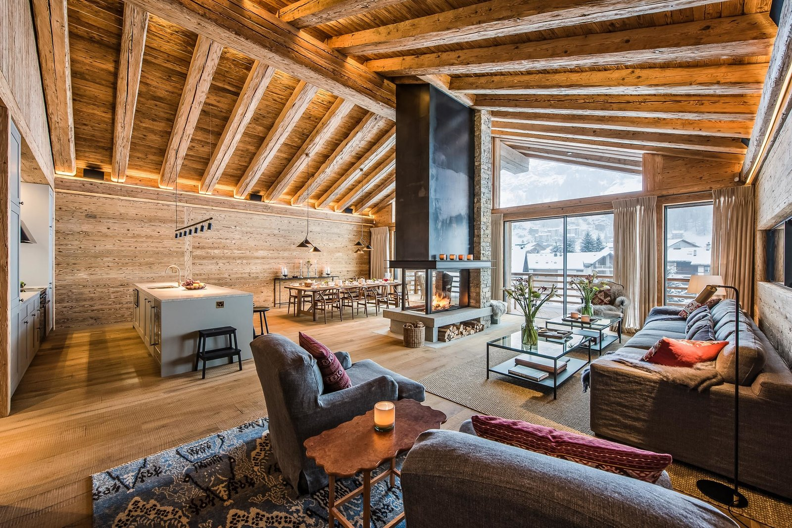 Photo 1 of 8 in 7 Alpine Holiday Chalets in Switzerland