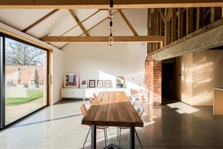A Suffolk Barn Home With Soaring Ceilings Listed at $1.95M - Photo 7 of 9 -