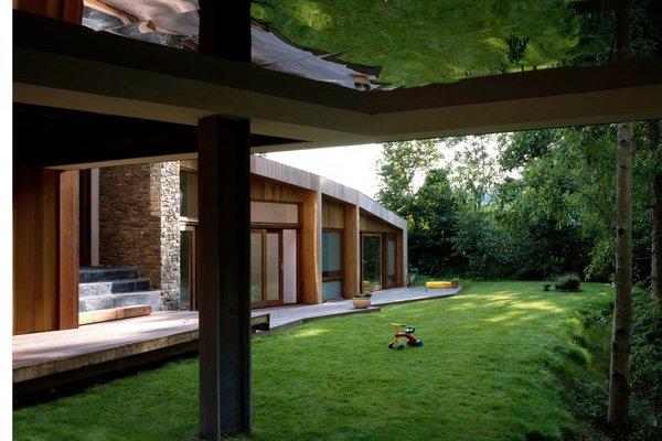 Modern home with outdoor, trees, and grass. Photo 8 of Ty Hedfan