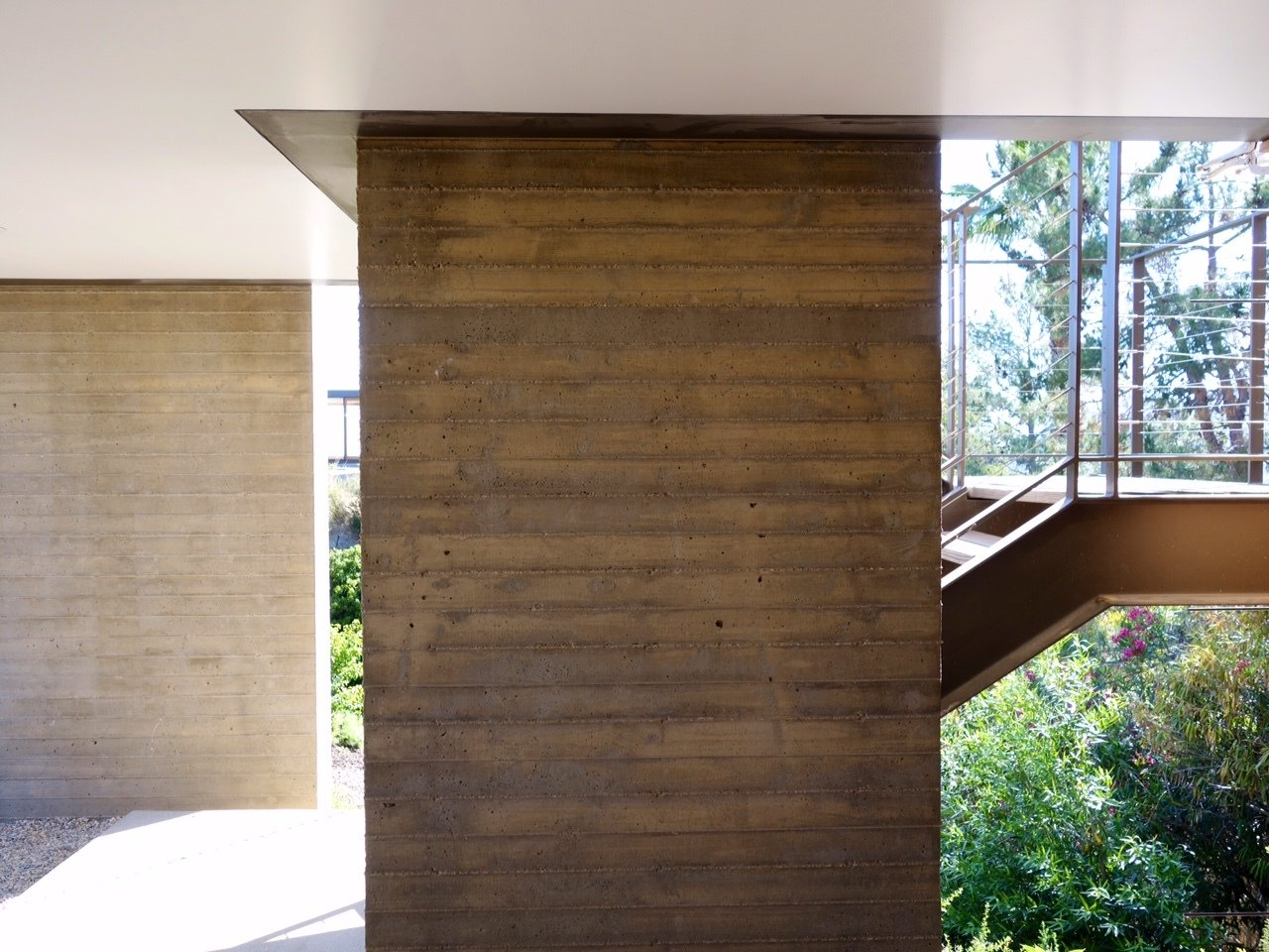 Tagged: Staircase.  Photo 6 of 13 in Take Your Next Vacation in a Midcentury Home in the Santa Monica Mountains