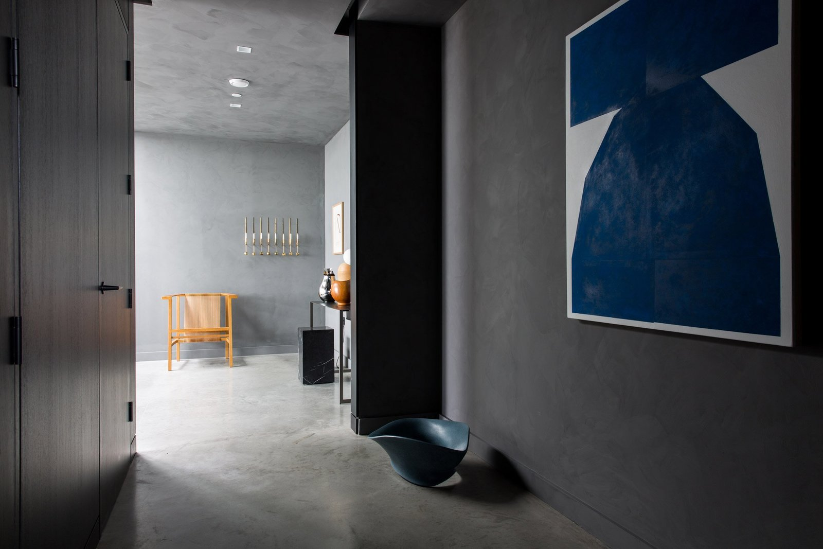 Tagged: Hallway and Concrete Floor.  Photo 6 of 13 in For Just Under $2 Million, You Could Live in a London Penthouse Outfitted by Cereal Magazine