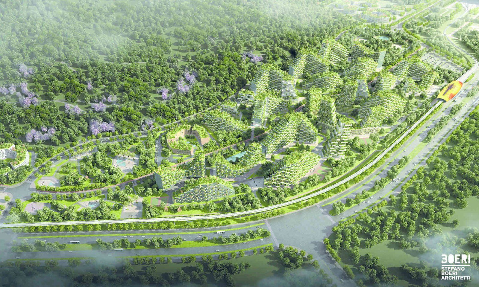 Photo 5 of 6 in A Green City in China That Will Play a Major Role in Fighting Air Pollution