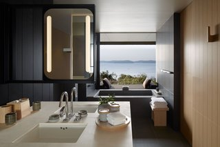 7 Modern Japanese Hotels That Will Help You Find Your Zen - Photo 1 of 7 - Amanemu (also shown in the cover photo above) in the tranquil Ise-Shima National Park on Honshu Island has suites and villas with large outdoor decks and traditional onsen baths.