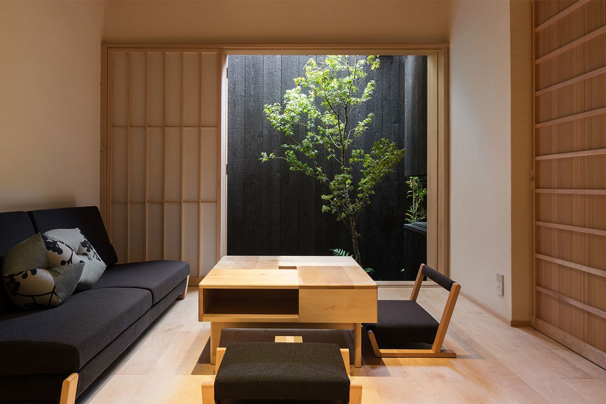 Built more than a 100 years ago, these two traditional townhouses in Kyoto were restored and transformed into modern, clean-lined serviced apartments.  Photo 5 of 8 in 7 Modern Japanese Hotels That Will Help You Find Your Zen