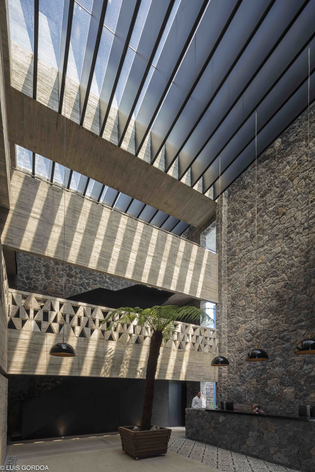 Photo 6 of 12 in A New Hotel in Morelos Combines Local Mexican Elements With Brutalist Architecture