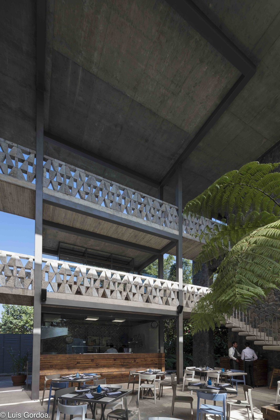 Photo 9 of 12 in A New Hotel in Morelos Combines Local Mexican Elements With Brutalist Architecture