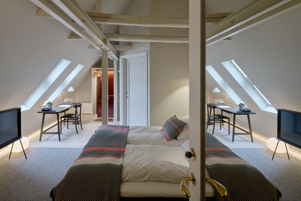 The interiors of Villa Terminus in Bergen, Norway