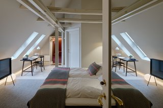 12 Modern Hotels in Historic Buildings Around the World - Photo 2 of 24 - The interiors of Villa Terminus in Bergen, Norway