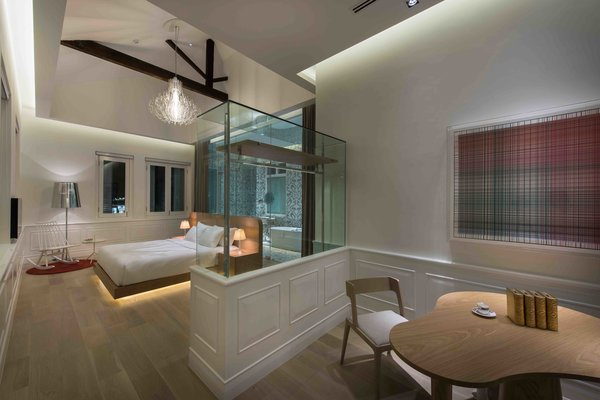 The interiors at Macalister Mansion in Penang, Malaysia