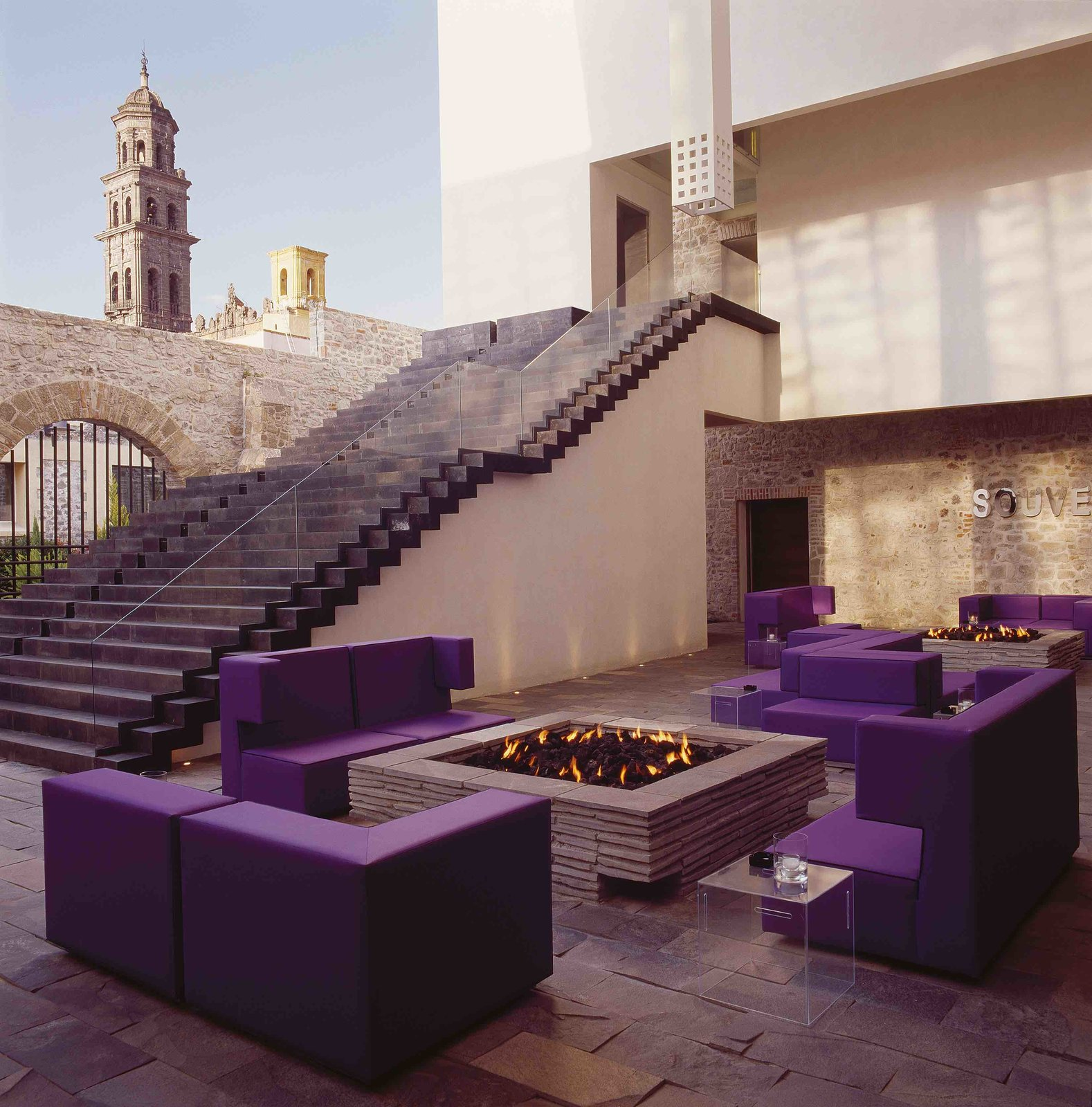 The interiors of La Purificadora in Puebla, Mexico  Photo 24 of 24 in 12 Modern Hotels in Historic Buildings Around the World
