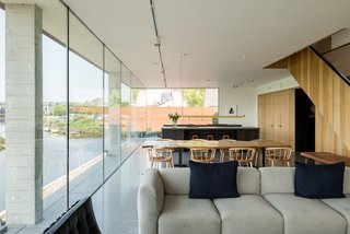 Explore a Prefabricated House For Sale in England That's Clad With Cor-Ten Steel - Photo 4 of 11 -
