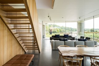 Explore a Prefabricated House For Sale in England That's Clad With Cor-Ten Steel - Photo 11 of 11 -