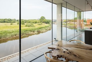 Explore a Prefabricated House For Sale in England That's Clad With Cor-Ten Steel - Photo 6 of 11 -