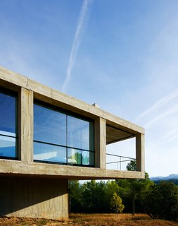 Stacked Concrete Squares Make Up This Incredible Vacation Home in Aragon, Spain - Photo 1 of 17 -