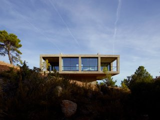 Stacked Concrete Squares Make Up This Incredible Vacation Home in Aragon, Spain - Photo 2 of 17 -