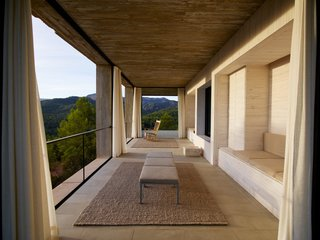 Stacked Concrete Squares Make Up This Incredible Vacation Home in Aragon, Spain - Photo 5 of 17 -