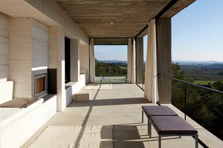Stacked Concrete Squares Make Up This Incredible Vacation Home in Aragon, Spain - Photo 8 of 17 -