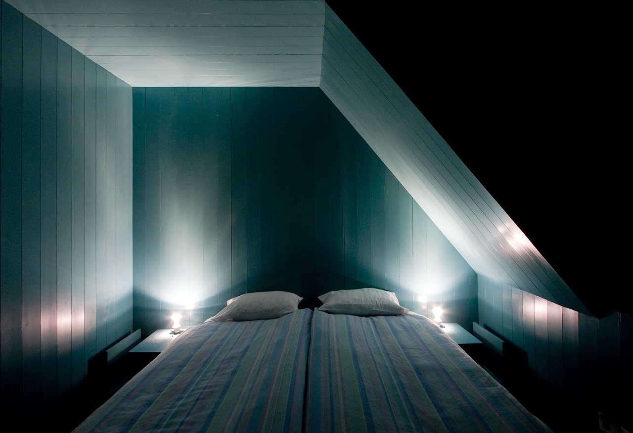 Tagged: Bedroom and Bed. Stay in a Renovated, Sea-Inspired Frisian Apartment in a Former Hay Storage Barn - Photo 12 of 19
