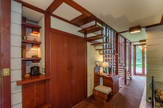 The Frank Lloyd Wright-Designed Louis Penfield House in Ohio Is For Sale For $1.3M - Photo 1 of 16 -