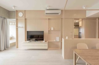 An Origami-Inspired Apartment in Hong Kong With Tons of Smart Storage - Photo 1 of 14 -