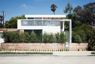 10 Best Modern Homes in Venice Beach, California - Photo 2 of 10 - Architect Michael Ferguson of SPACE International led the renovation of this 1950s bungalow, as well as the addition of a second floor, which he set back from the street to keep the home at scale with its neighboring structures.
