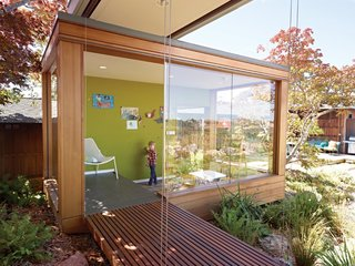 7 Colors to Use in Your Home to Create a Midcentury-Modern Look With a Twist - Photo 3 of 7 - Deep, earthy greens like olive and wasabi were popular during the 1960s. This shade works well with burnt orange, gold, or dark brown and can add extra character to entrance foyers, lounge areas, accent walls, or even children's playrooms. Restless Olive (SW 6425) from Sherwin Williams and Green Root (8334) from Jotun capture these shades well.