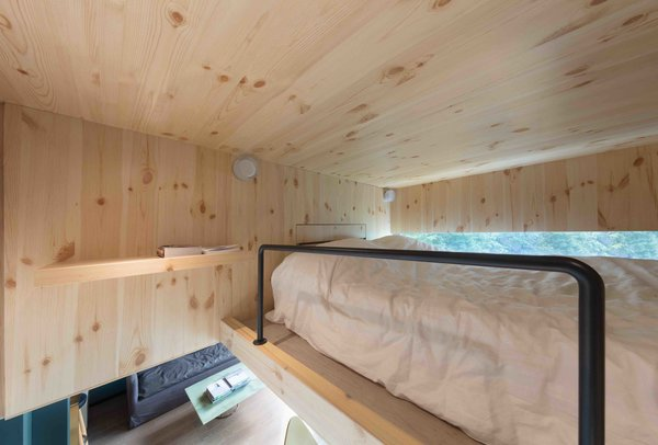 A Tiny Hong Kong Apartment With a Tree House-Inspired Loft - Photo 4 of 8 -