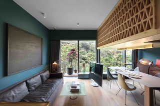 A Tiny Hong Kong Apartment With a Tree House-Inspired Loft - Photo 6 of 8 -