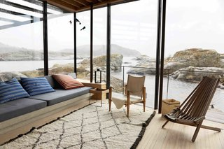 A Norwegian Summer Cabin Embraces the Rocky Terrain - Photo 6 of 10 -