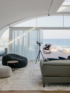 "8 Best Dwell Penthouses - Photo 16 of 17 - This two-story, three-bedroom penthouse located at the top of the multi-use development of Pacific Bondi Beach was designed to evoke the ""relaxed sophistication"" of its chic Australian beach locale."