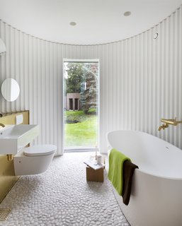 Stay in This Danish Vacation Home Made Up of 9 Log-Clad Cylinders - Photo 10 of 14 -