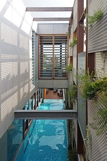 Living Screens Conceal a North Bondi Beach House and a Semi-Indoor Pool - Photo 13 of 18 -