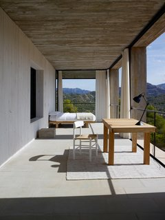 7 Ways to Make the Most of Your Balcony - Photo 5 of 10 - At Casa Solo Pezo, a holiday rental property in Aragon, Spain, architect Pezo Von Ellrichshausen of Solo Office followed the proportions and interior layouts of traditional Mediterranean homes with a strong indoor/outdoor connection, and created a bedroom within a balcony terrace.