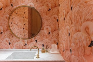 8 Bold Bathrooms That Don't Back Away From Color