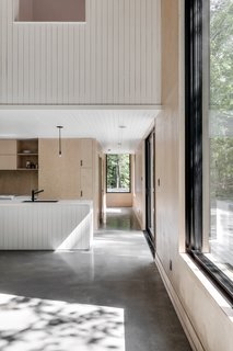 A Lofty Nature Retreat in Quebec Inspired by Nordic Architecture - Photo 6 of 16 -